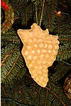 Beeswax Christmas Grape Ornaments