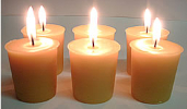beeswax votives