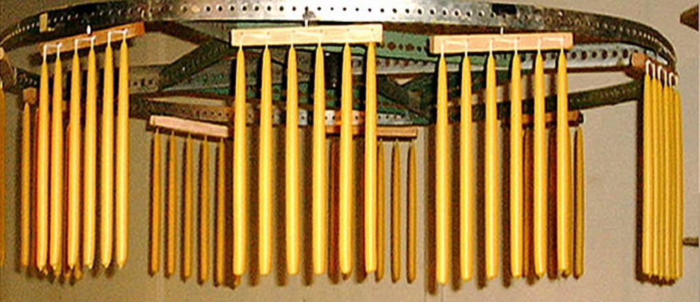 Beeswax Tapers and Pillar Candle Sizes
