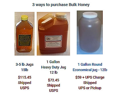 Unprocessed honey