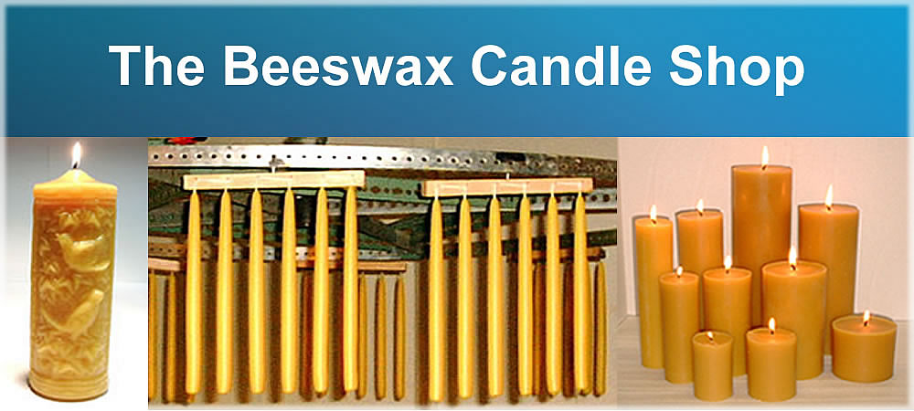 beeswax candles, pillars, tealites